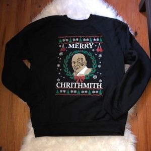 Merry Crithmith (not-so) Ugly Christmas Sweater